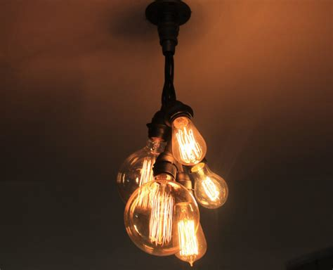 Handmade Ceiling Lights - 20 unconventional handmade industrial lighting designs you
