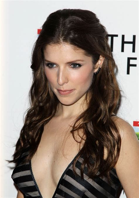 anna kendrick cleavage at the last five years premiere