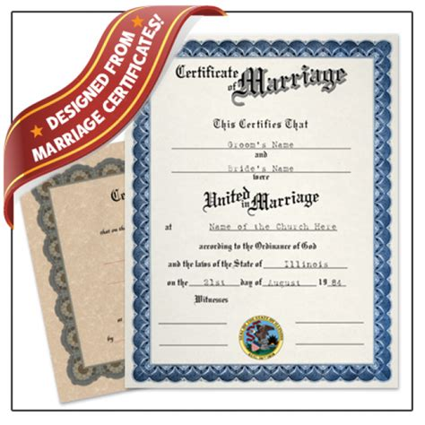 Marriage License Records Sc Marriage Certificate Buyafakediploma