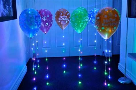 balloon light balloons 15 ideas for balloon decorations mitzvah wedding sweet 16