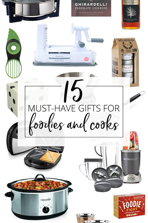 Gifts For Cooks | 15 must have gifts for foodies and cooks gift guide
