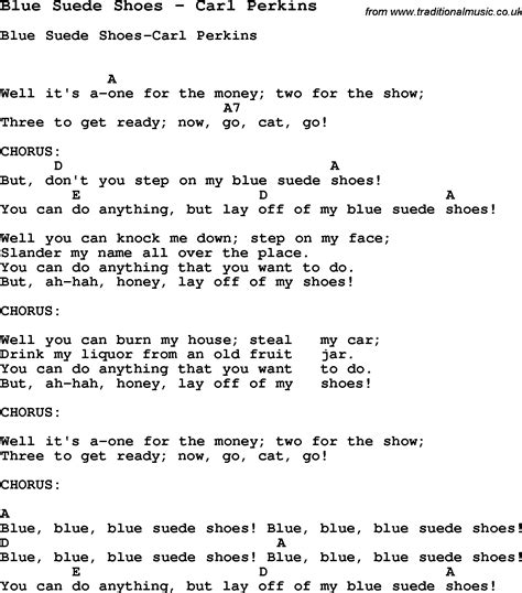 blue ukulele song lyrics song blue suede shoes by carl perkins song lyric for