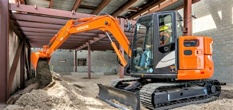 hitachi zero tail swing excavator introduction into two reduced tail swing hitachi