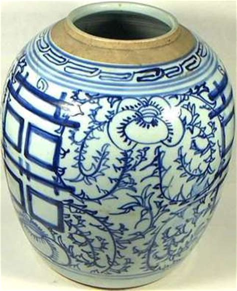 Qing Dynasty Vase Value Large Genuine 19th Century Qing Dynasty Chinese Blue And