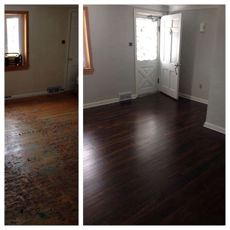 1 or 2 coats of stain on hardwood floors 25 best ideas about hardwood floor refinishing on