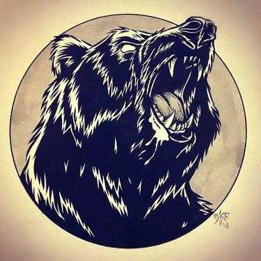 grizzly bear tattoos designs 17 best ideas about black on