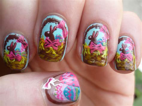 easter nail designs easter basket nail art juliatmll nail art