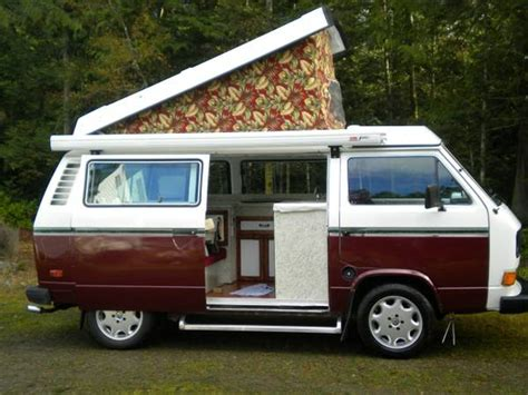 Fiamma Awning Walls 1980 Vw Vanagon Westfalia Camper For Sale In Sequim Wa