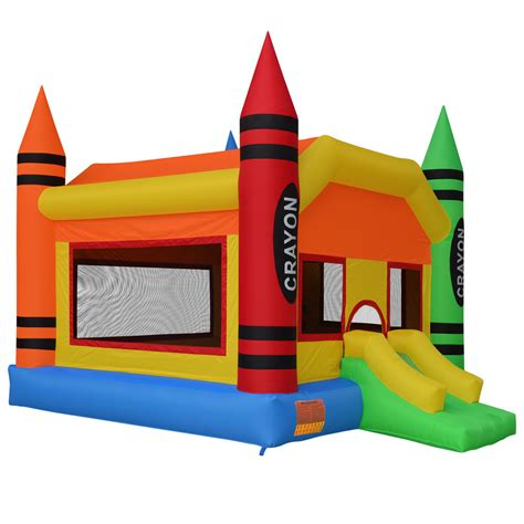 buy inflatable bounce house inflatable crayon bounce house moonwalk jumper bouncer jump bouncy castle ebay