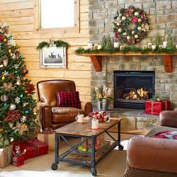 Lowes Christmas Decorating Ideas Lodge Look Christmas Decorating