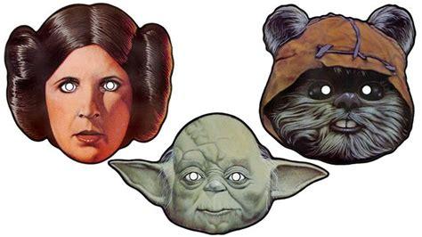 printable star wars masks free printable star wars masks freebies pinterest