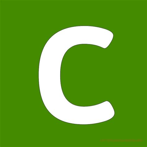 c green green letter c www imgkid the image kid has it