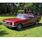 1966 Ford Mustang Fire Engine Red For Sale