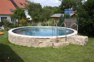 bildimpressionen pool und schwimmbad selber bauen