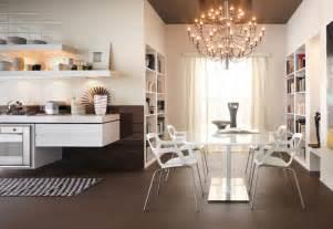 white kitchen chandelier top to toe ceramic tiles