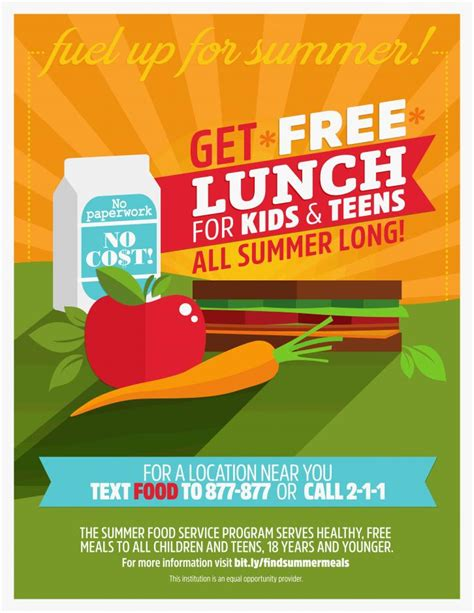 Summer Reading Something Delicious This Way Comes by Free Summer Meals United Way California Capital Region