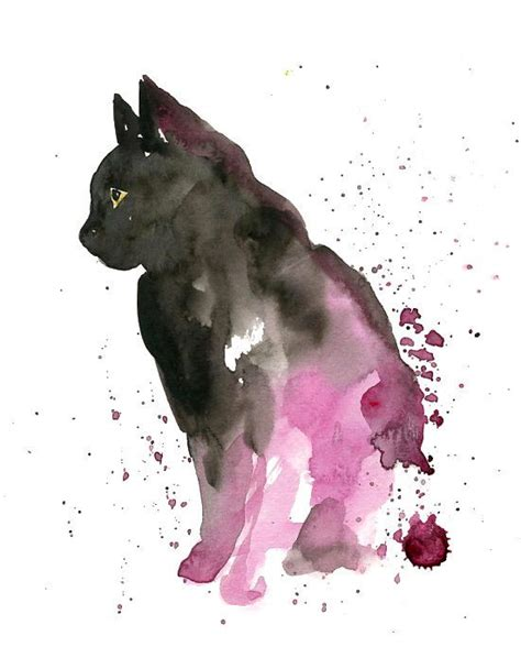 25 best ideas about watercolor cat on watercolor drawing watercolor cat and