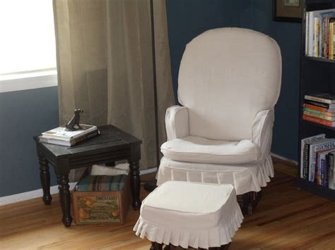 slipcovers for rockers simplevintagestyle rocking chair slipcover reveal