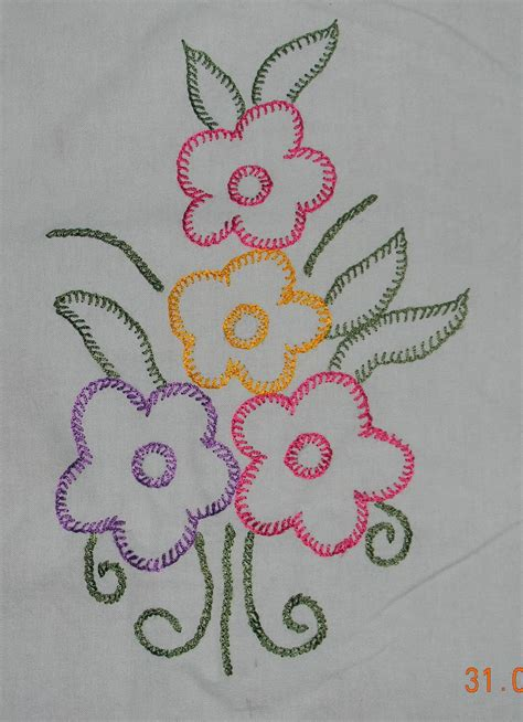 Handmade Embroidery Design - embroidery patterns for www imgkid the