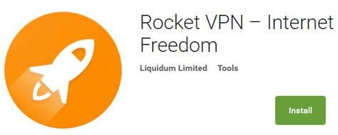 rocket vpn internet freedom android apps on google play rocket vpn android app review