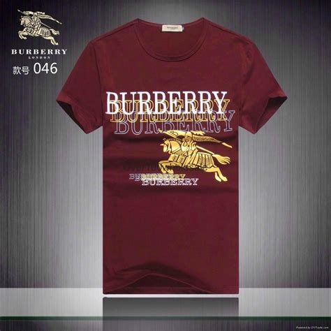 New Arrival Bulberry 2015 new arrival burberry t shirt burberry cotton t shirt ozx014 china manufacturer