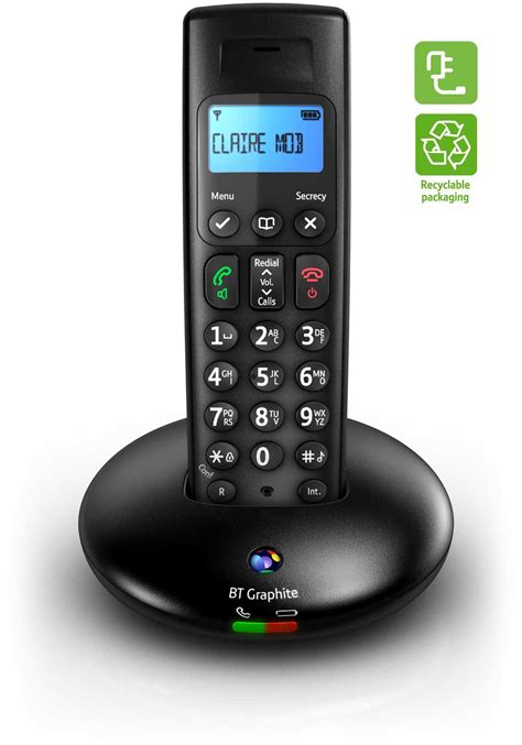 Bt Phone Lookup Uk The Bt Graphite 2100 Is Energy Efficient And Also Comes