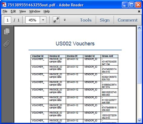 xml reports tutorial tutorial creating a simple xml bi publisher report