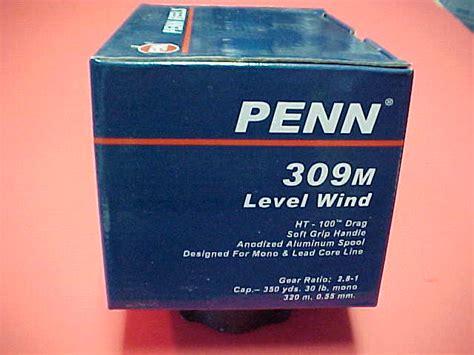 Penn Level Wind 309m Fishing Reel penn 309m levelwind reel new in the box berinson