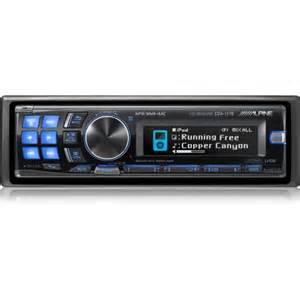 car audio system alpine cd unit cda 117e