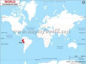 Peru World Map by Where Is Peru Location Of Peru