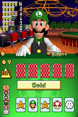 picture poker super mario wiki  mario encyclopedia