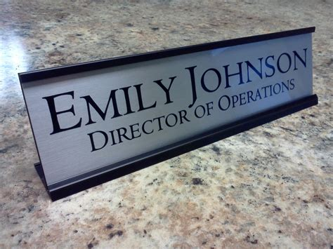 engraved desk name plates personalized desk name plates related keywords