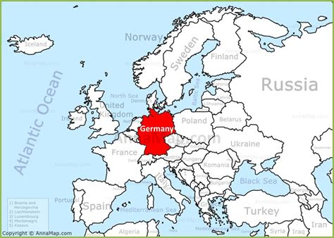 map of the germany germany europe map www pixshark images galleries