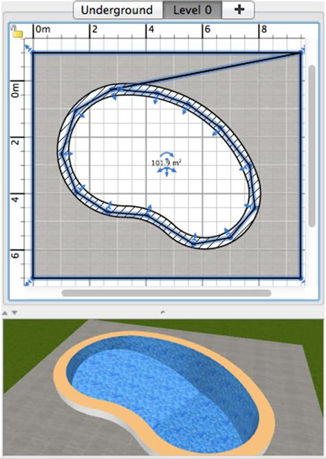 Home Design 3d Magnetism by How To Design A Swimming Pool Sweet Home 3d Blog