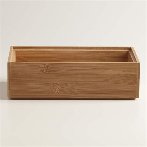 Bamboo Drawer Dividers by Bamboo Drawer Organizer World Market