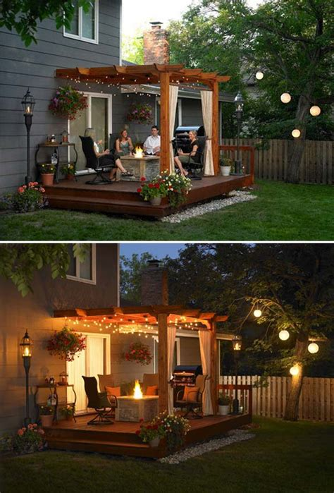 diy patio lights 15 diy backyard and patio lighting projects amazing diy
