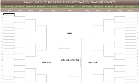 blank march madness bracket template 24 blank bracket template images blank march madness