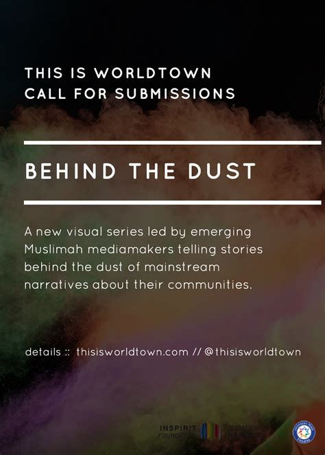 Call For Submissions Thismomcom by Call For Submissions The Dust This Is Worldtown