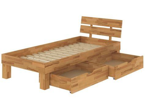 futonbett aus holz buchebett massiv einzelbett 100x200 futonbett