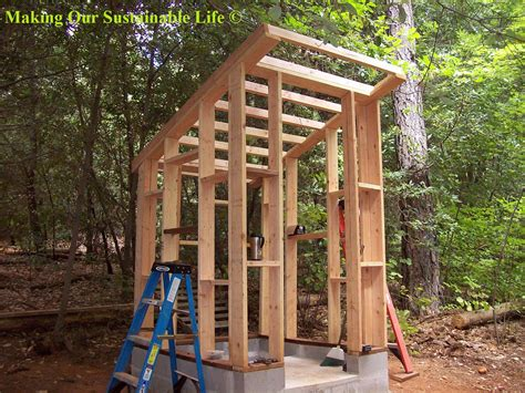 How To Make A House Out Of Construction Paper - another outhouse post our sustainable