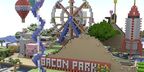 theme park names minecraft make it real minecraft theme park mark adlington