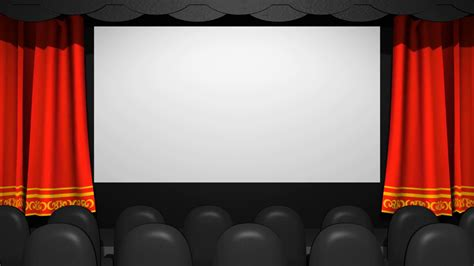 movie curtains movie theater cloth curtains open motion background