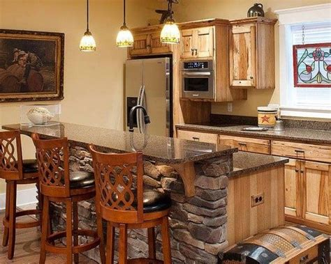 gray floors with hickory cabinets grey countertop hickory cabinets hickory cabinets with