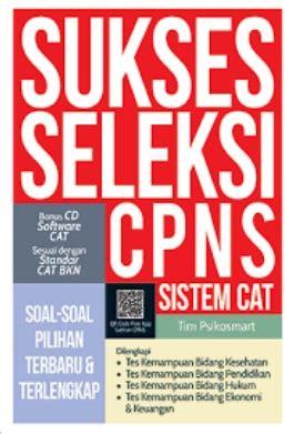 Sukses Lulus Cpns buku sukses seleksi cpns tim psikosmart mizanstore