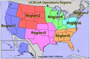 map of the 5 regions of the united states united civil rights councils of america regions