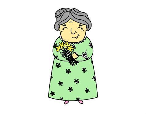 imagenes para uñas dibujo de abuela pintado por en dibujos net el d 237 a 21 03