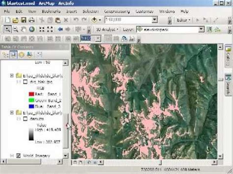 tutorial tin arcgis change detection yosemite rim fire pixel based approach