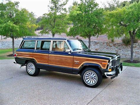 classic jeep wagoneer buy a vintage jeep grand wagoneer doobybrain com jeep