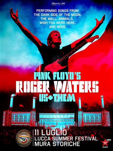 roger waters confermato a lucca summer festival 2018