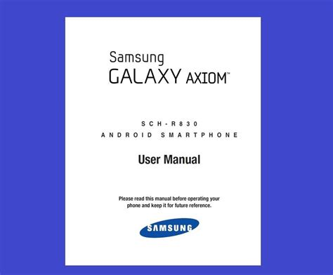 one user manual samsung galaxy axiom s3 mini smartphone user manual us